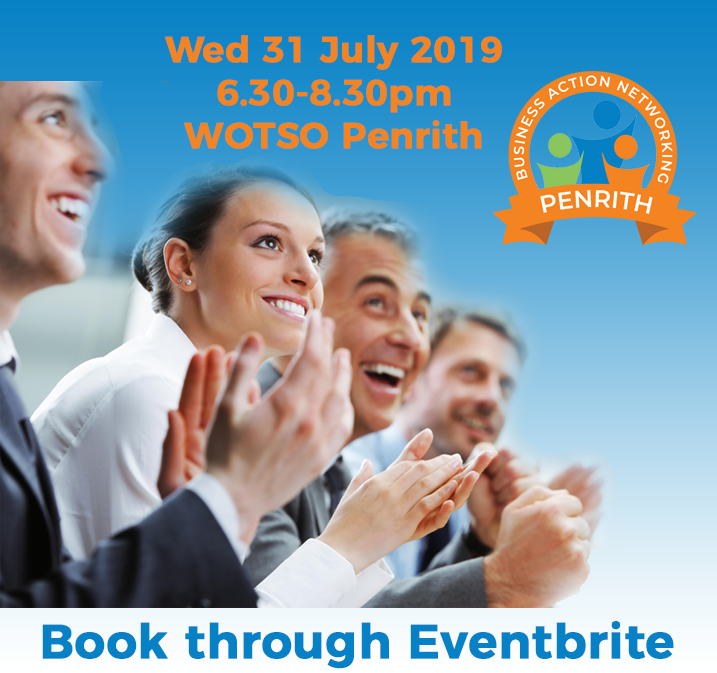 Penrith Business Networking 31 July