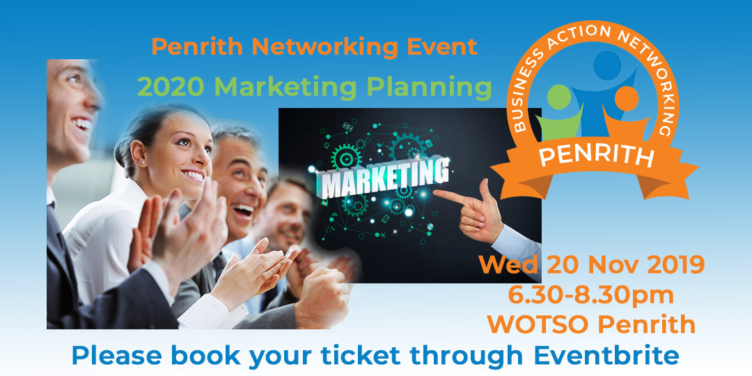 20191120W-Penrith-Marketing-2020-Business-Action-Networking-Meeting